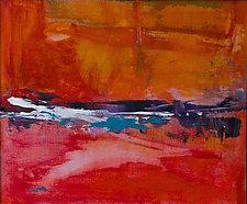 Florida Keys at Sunset by Pamela Acheson Myers (Acrylic Painting)