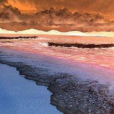 Caribbean Sea & Sky 3 by Marcie Jan Bronstein (Color Photograph)