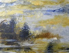 Scape - Lakeside by Stephen Yates (Acrylic Painting)