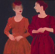 Duet by Mary Hatch (Oil Painting)
