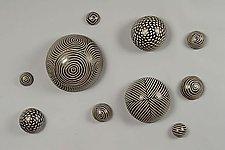Random Pattern Wall Balls by Larry Halvorsen (Ceramic Wall Sculpture)