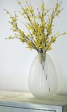 Seagrass Egg by Penelope Wurr (Art Glass Vase)