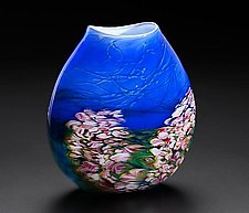 Monet Vase by John & Heather  Fields (Art Glass Vase)