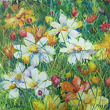 Coreopsis by Terrece Beesley (Watercolor Painting)