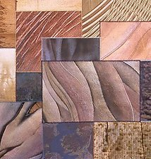 Fresco Series: After Masolino by Karen McCarthy (Fiber Wall Art)