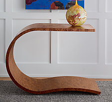 Spring Table by Richard Judd (Wood Console Table)