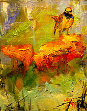 Saturday Bird by Janice Sugg (Oil Painting)