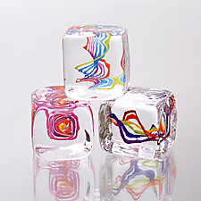 Squarbles by Nicholas Kekic (Art Glass Paperweights)