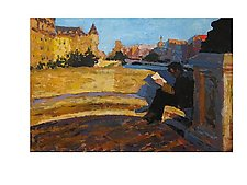Pont Neuf by Jeff Darrow (Acrylic Painting)
