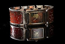 Copper Perforated Florence by Eduardo Milieris (Metal Women's Watch)