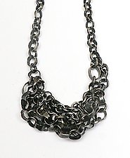 Silver Marine Chain Link Necklace by Lauren Passenti (Silver Necklace)