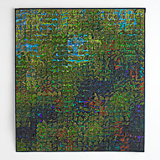 Green Shade by Tim Harding (Fiber Wall Piece)