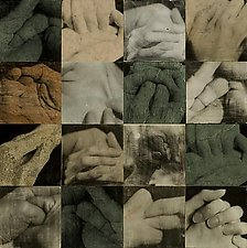 Hands by John Maggiotto (Photographic Wall Sculpture)