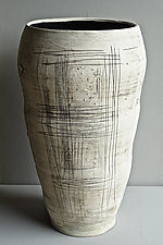 Really Big Vase - Tall by Lori Katz (Ceramic Vase)