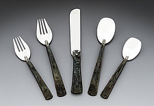 Craftsman Place Setting by Nicole and Harry Hansen (Silver Flatware)