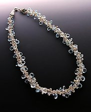 Crescendo Topaz by Sharmen Liao (Gold & Stone Necklace)