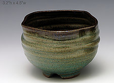 Tea Bowl 322 by Ron Mello (Ceramic Bowl)
