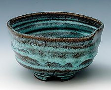 Tea Bowl 171 by Ron Mello (Ceramic Bowl)