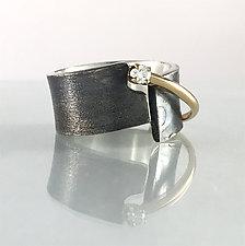 Balance Ring by Dagmara Costello (Gold, Silver & Stone Ring)