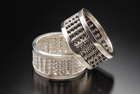 Woven Band Rings