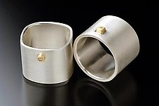 Wink Rings by Linda Bernasconi (Gold, Silver, & Stone Ring)