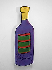 Zinfandel by Diana Crain (Ceramic Wall Sculpture)