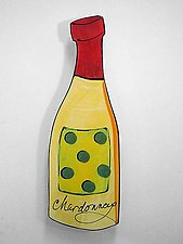 Chardonnay by Diana Crain (Ceramic Wall Sculpture)