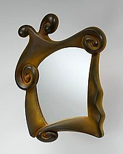 Mirror, Mirror... (Rust Finish) by Mike Dillon (Resin Mirrors)