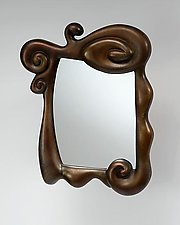 Mirror, Mirror... (Copper Finish) by Mike Dillon (Resin Mirror)