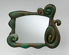 Mirror, Mirror... (Patina Finish) by Mike Dillon (Resin Mirror)