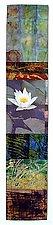 Lotus by Joan Schulze (Fiber Wall Art)
