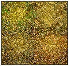 Sage Quatro Radial by Tim Harding (Fiber Wall Art)