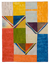 South by Janet Steadman (Fiber Wall Art)