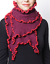 Sabrina Scarf: Brights by Sonya Mackintosh  (Knit Scarf)