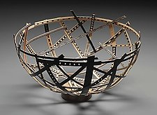 Bird Nest vessel by Robert Wilhelm (Wood Vessel)