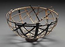 Bird Nest vessel by Robert Wilhelm (Wood Vessel)