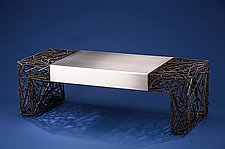 Two Faced by Dan McCabe (Metal Coffee Table)