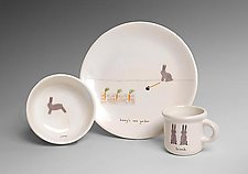Bunny Dinnerware Set by Beth Mueller (Ceramic Dining Set)