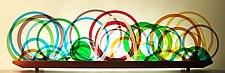 Tangles by Bernie Huebner and Lucie Boucher (Art Glass Sculpture)