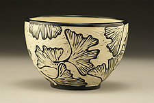 Ginkgo Bowl by Jennifer  Falter (Ceramic Bowl)