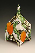 Butterfly Garden Box by Farraday Newsome (Ceramic Box)