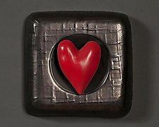 Heart by Marilee Hall (Ceramic Wall Sculpture)