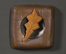 Leaf by Marilee Hall (Ceramic Wall Sculpture)