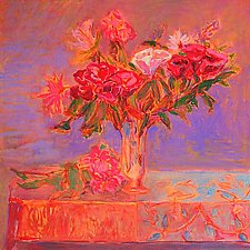 Afternoon Still Life by Leonard Moskowitz (Acrylic Painting)