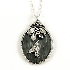 Hummer Pendant by Vickie  Hallmark (Silver Necklace)