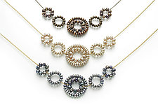 Daisy Necklace by Estyn Hulbert (Gold & Pearl Necklace)