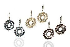 Daisy Earrings by Estyn Hulbert (Gold & Pearl Earrings)