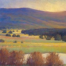 View Across the Yellow Field by Ken Elliott (Giclee Print)