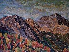 Crystal Peaks No.2 by Thomas Lo Cicero (Oil Painting)