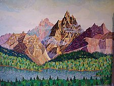 Crystal Peaks No.4 by Thomas Lo Cicero (Oil Painting)